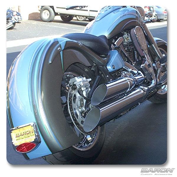 Big N Nasty Pipes Kawasaki Vulcan By