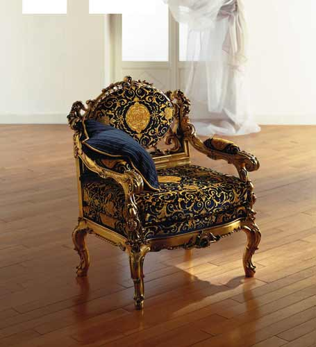 exclusive luxury baroque chair design