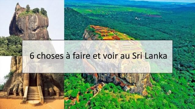 6 choses à faire et voir au Sri Lanka