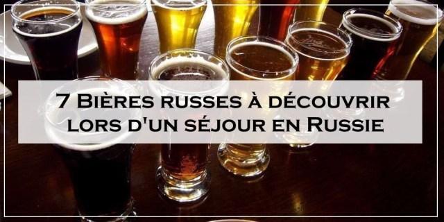 7 Bières russes à découvrir lors d'un séjour en Russie