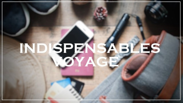 indispensable voyage