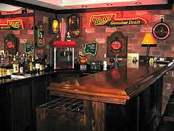 The Man Cave Easy Home Bar Plans