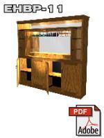 lighted bar back design