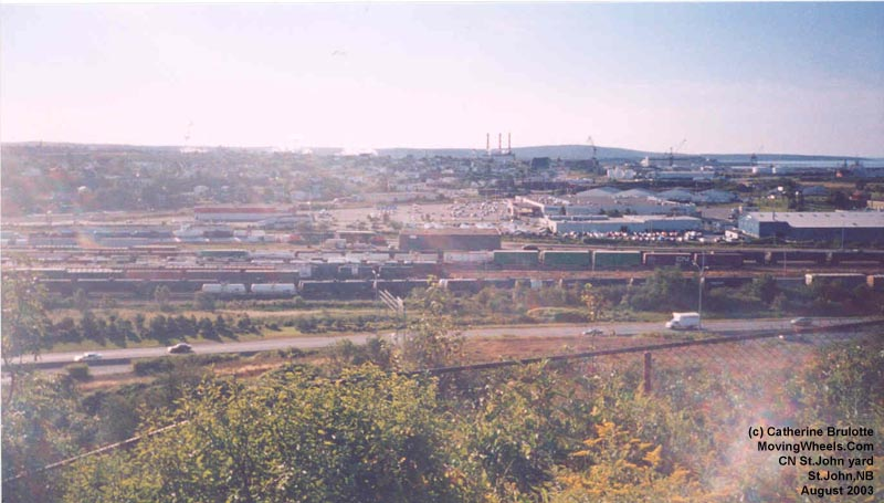 New Brunswick Stations Depots And Infrastructures