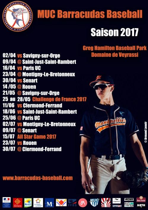 Saison 2017 - Fred Walter