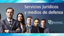Servicios jurídicos y medios de defensa