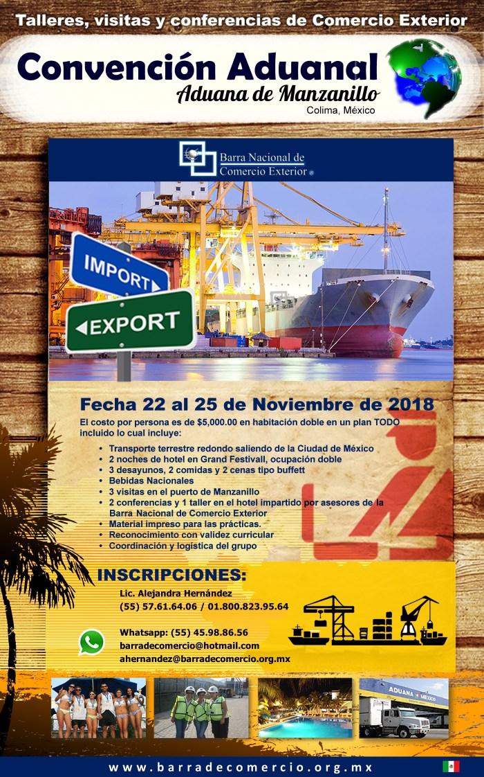 Convención Aduanal Manzanillo