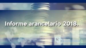 Informe arancelario 2018