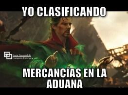 Yo clasificando mercancías en la aduana #MemesAduaneros