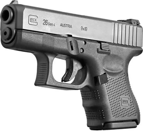 "GLOCK 26 GEN 4 9MM 3.5"" FIXED SIGHTS"