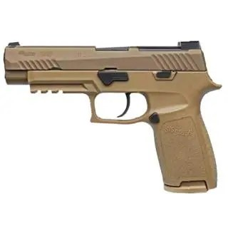 """SIG SAUER P320 9MM 4.7"""" M17 COYOTE"""