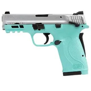 SMITH & WESSON M&P 380 SHIELD EZ380 380ACP ROBIN EGG BLUE