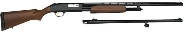 Mossberg 500 Hunting Combos Pump Shotgun 20 GA,24/26 in, Vent Rib, 3 in