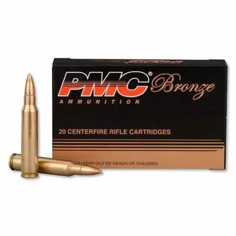 PMC 223A Bronze Rifle Ammo 223 REM