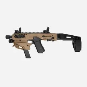 CAA MICRO CONVERSION KIT GLOCK TAN FDE