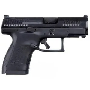 """CZ P-10 S 9MM 3.5"""" SUB COMPACT BLK FNS 10RD"""