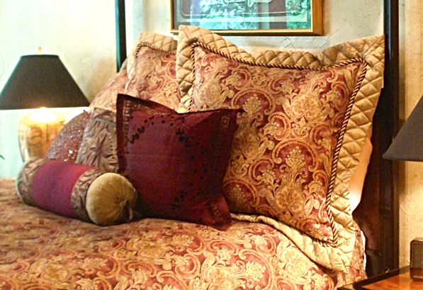 Asian-Inspired Custom Decorative Throw Pillows