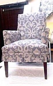 Custom Tailored Chair Slipcover - Barrera's