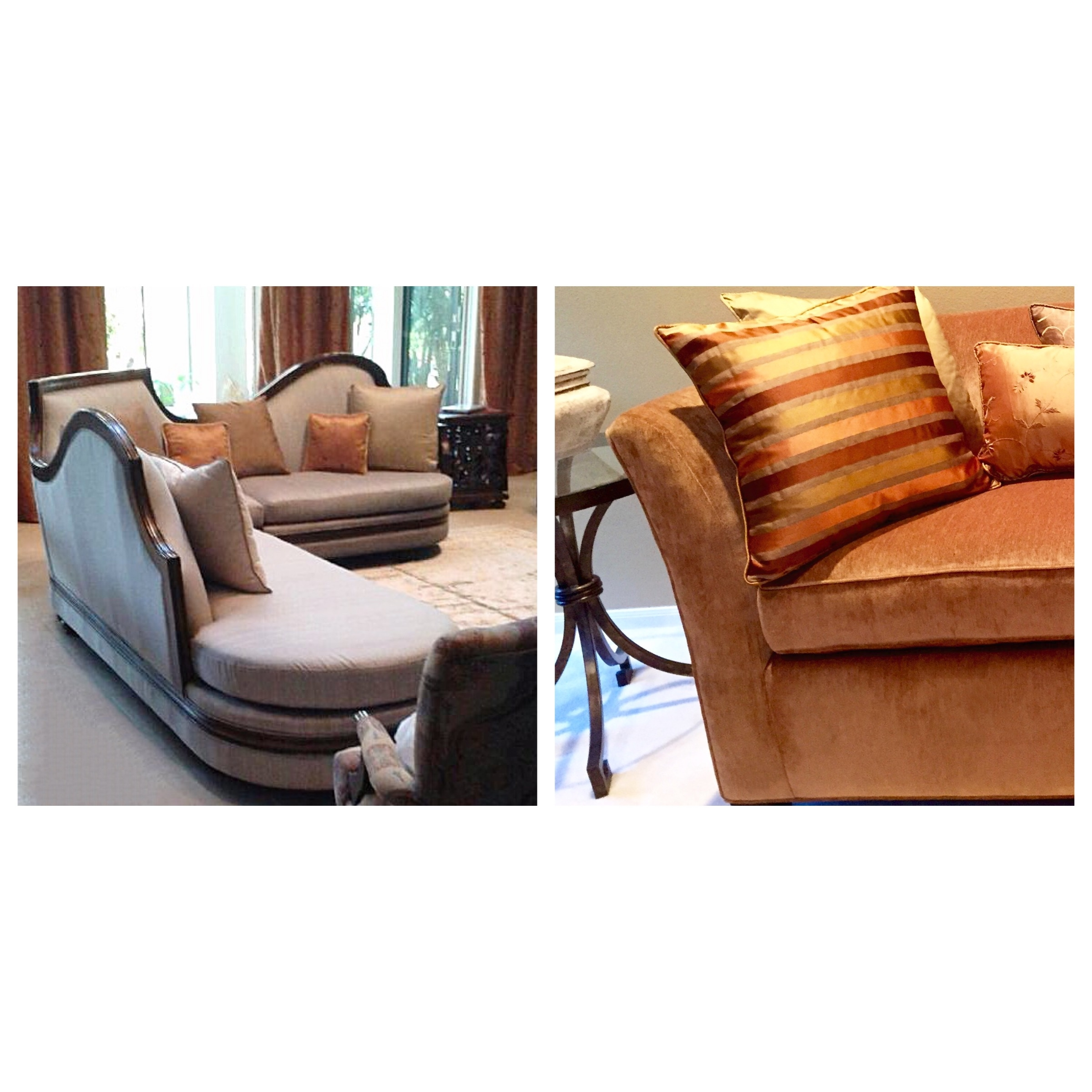 Ask About Our Fine Custom Upholstery!