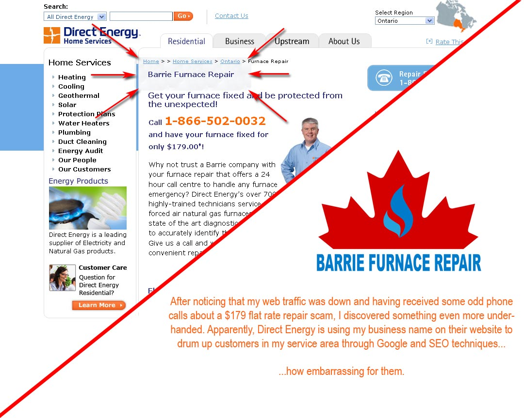 Direct Energy Gas Alberta