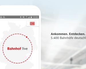 """Die App """"DB Bahnhof live"""" ermöglicht einen schnellen Zugang zu 5.400 Bahnhöfen und liefert alle wichtigen Infos zu diesem."""