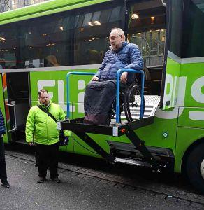 Ausstieg Flixbus Nürnberg-ZOB
