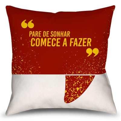 Almofada Pra Começar A Fazer - McDonalds - Coleção Office Station - Barril Criativo