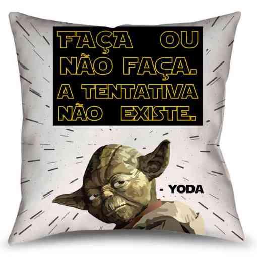 Almofada Yoda - Star Wars - Coleção Office Station - Barril Criativo