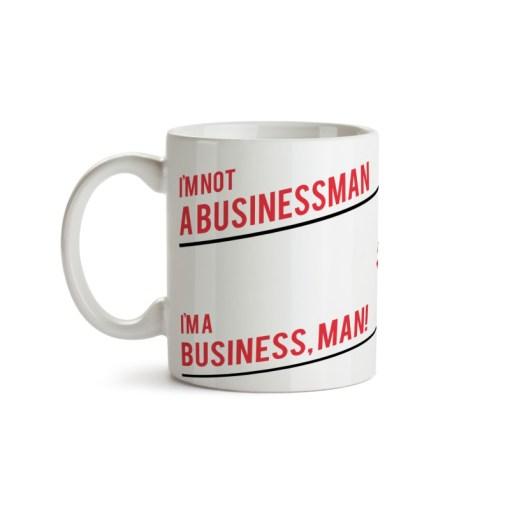 Caneca Business Man Frente - Negócios - Coleção Office Station - Barril Criativo