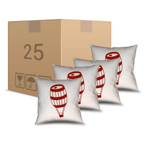 25 Almofadas Brancas Personalizadas - Personalizados - Barril Criativo