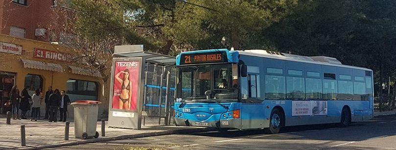 bus línea 21 madrid