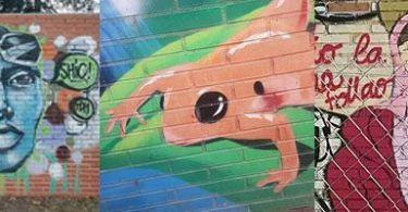 graffitis barrio salvador