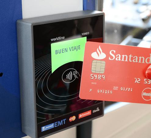 tarjeta bancaria EMT