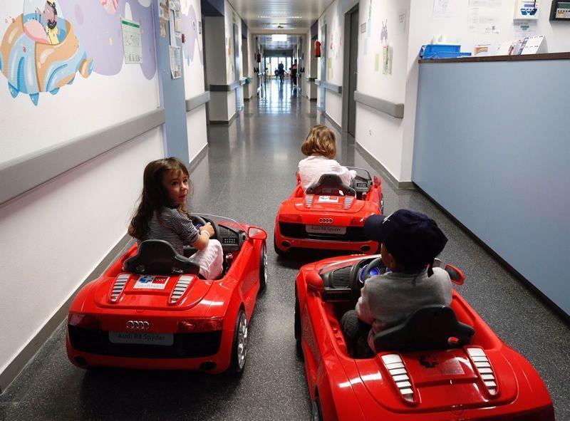 coches eléctricos hospitales