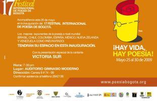 festival de poesía de Bogotá