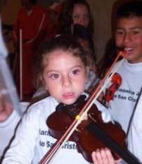 Niña en la Filarmónica