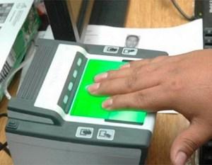 Equipos biométricos