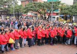 Vendedores informales de Chapinero