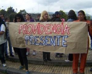 Comunidad de Bosa protesta