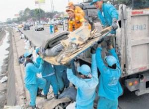 Problemas de recolección de basuras en Bogotá