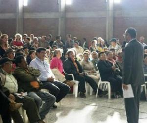 Cabildos participativos de malla vial en Teusaquillo