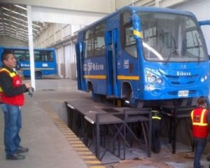revisión buses SITP