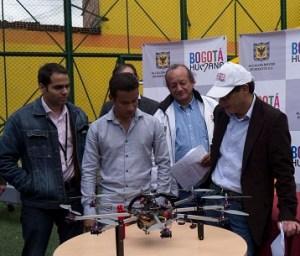 Dron para Bogotá