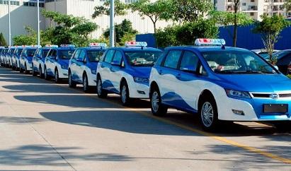 Taxis eléctricos para Bogotá