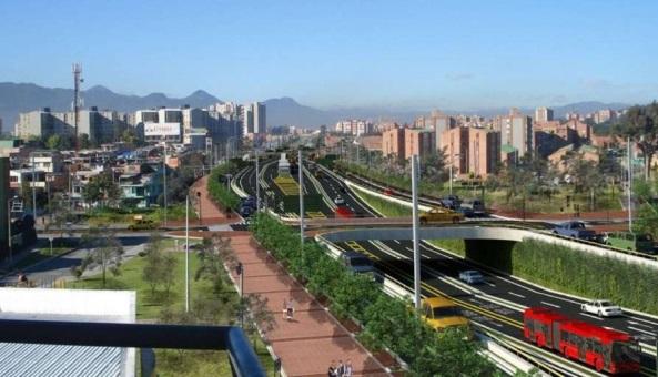 TransMilenio por la Avenida Boyacá