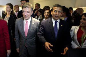 Santos y Humala