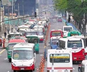 Transporte público en Bogotá
