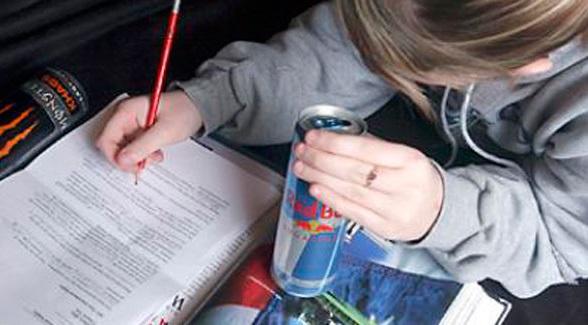 Menores de edad y bebidas energizantes