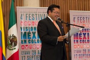 Arnulfo Valdivia Embajador de México en Colombia