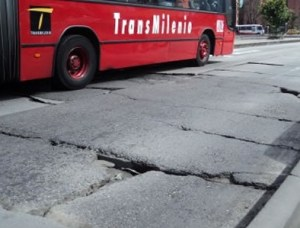 Losas de TransMilenio